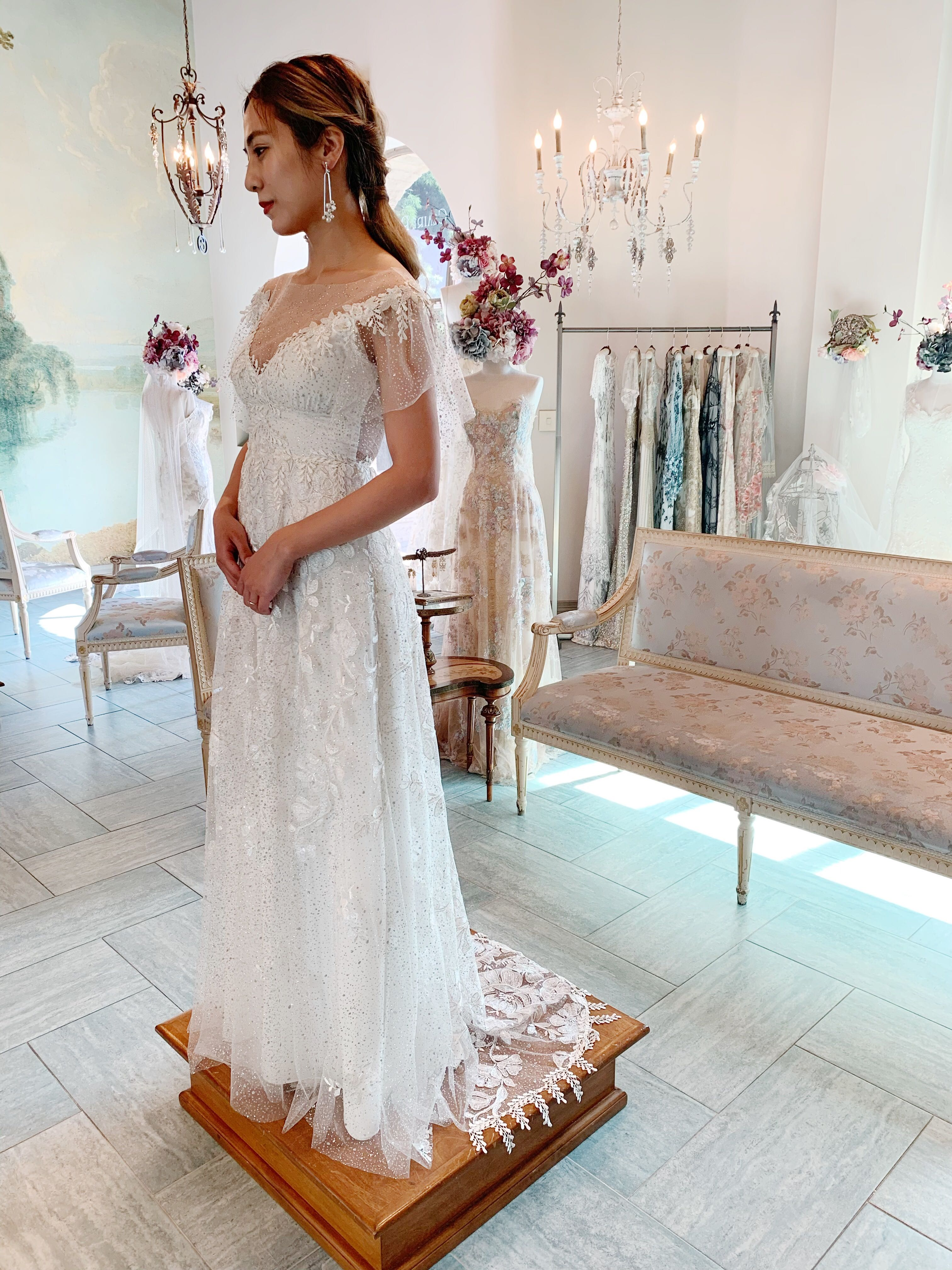 Claire Pettibone Soleil Gown